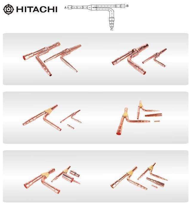 Hitachi Copper Branching Joint
