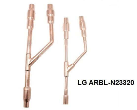 LG Copper Distribution Tube Fittings Y branch joint ARBL-N23320