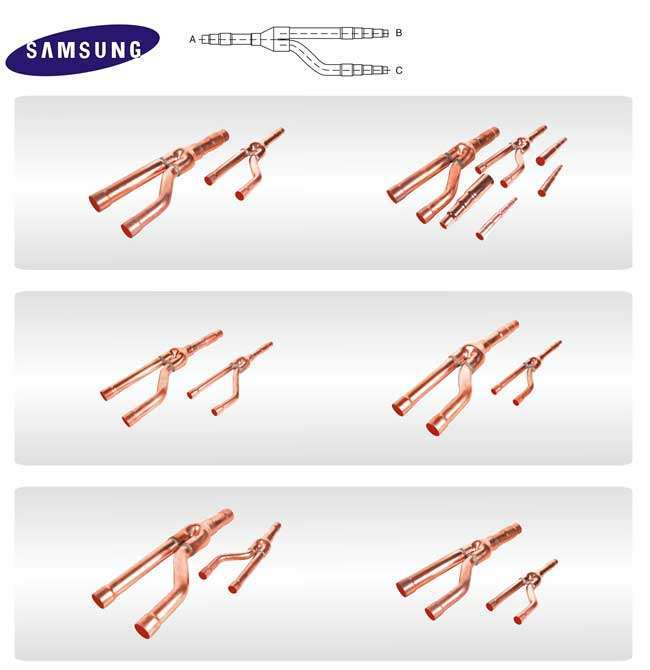 Samsung Copper Distribution Tube Fittings