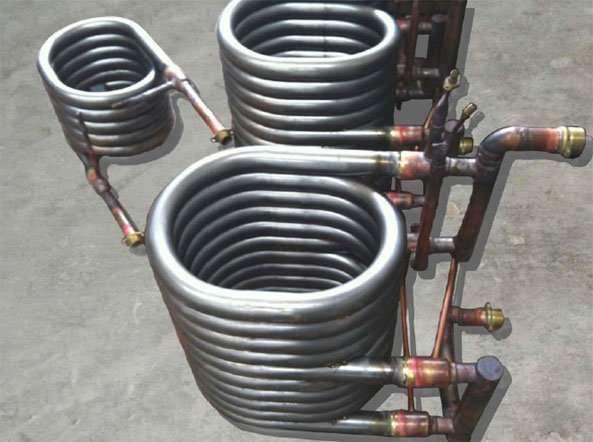 Titanium Coaxial Heat Exchanger