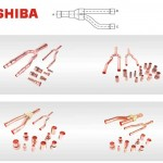 Toshiba Copper Distribution Tube Fittings