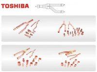 Toshiba Copper Distribution Tube Fittings