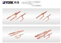 YORKCopper Distribution Tube Fittings Y branch joint