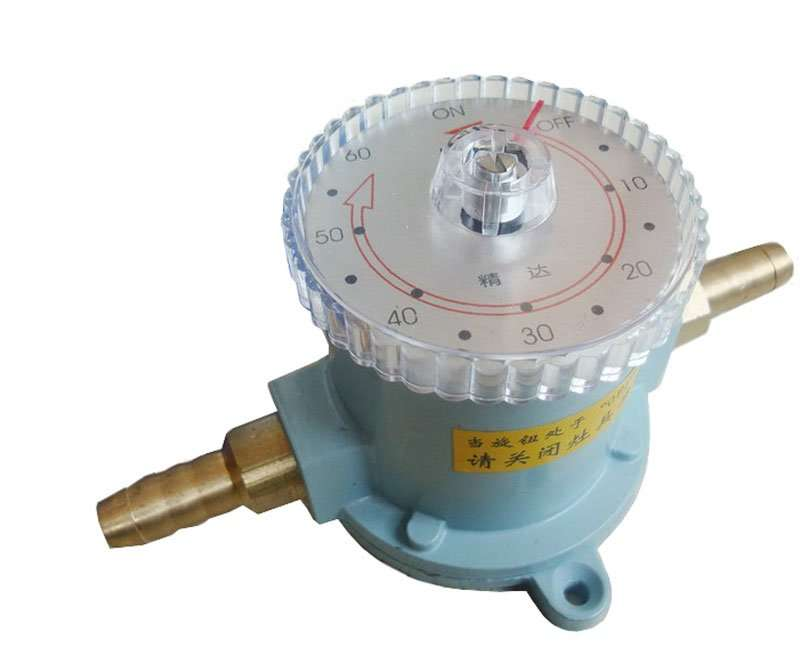 Gas Timer with metal shell