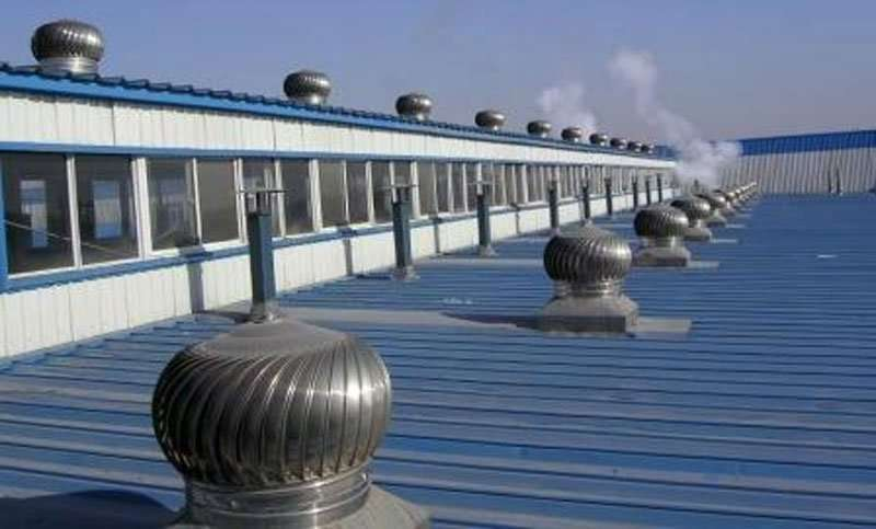 Rooftop Wind Turbines Ventilator : Roof ventilator wind powered project manufacturer supplier