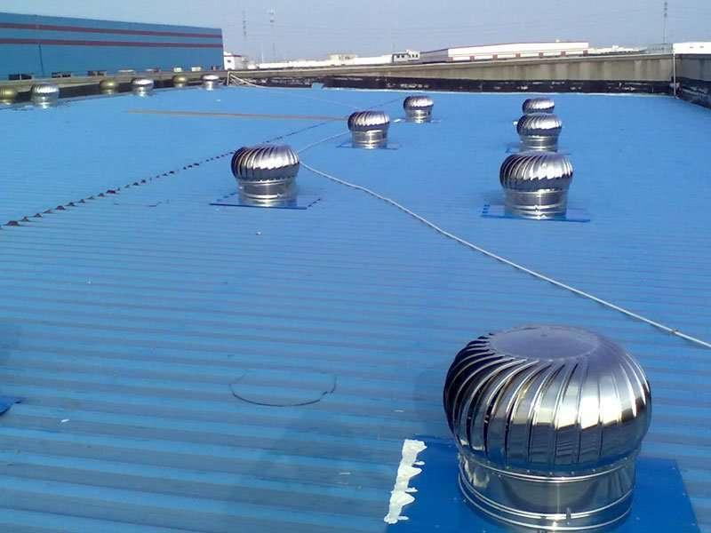 Roof Ventilator Wind Powered Project Manufacturer Supplier
