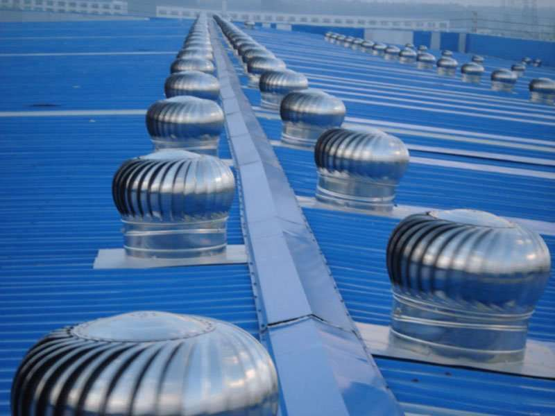 Wind Powered Attic Ventilation : Roof ventilator wind powered project manufacturer supplier
