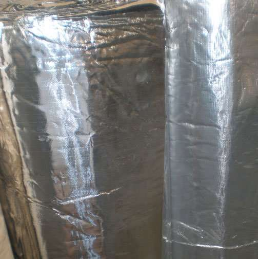 Armaflex Sheet And Roll Insulation With Aluminum Foil And