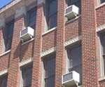 muestra de la instalación de ahorro de energía de aire acondicionado