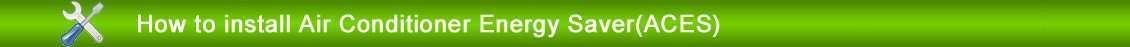 installer climatiseur économiseur d'énergie