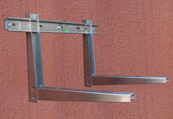 No-screw Stainless Steel Air Conditioner Bracket