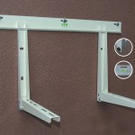 Two-screw Air Conditioner Bracket With Sliding Bar