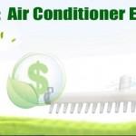 aire acondicionado de ahorro de energía