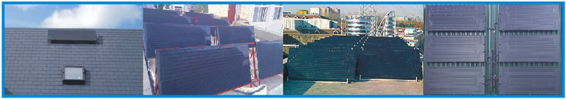 ISO poly solar energy Central hot water system of the State