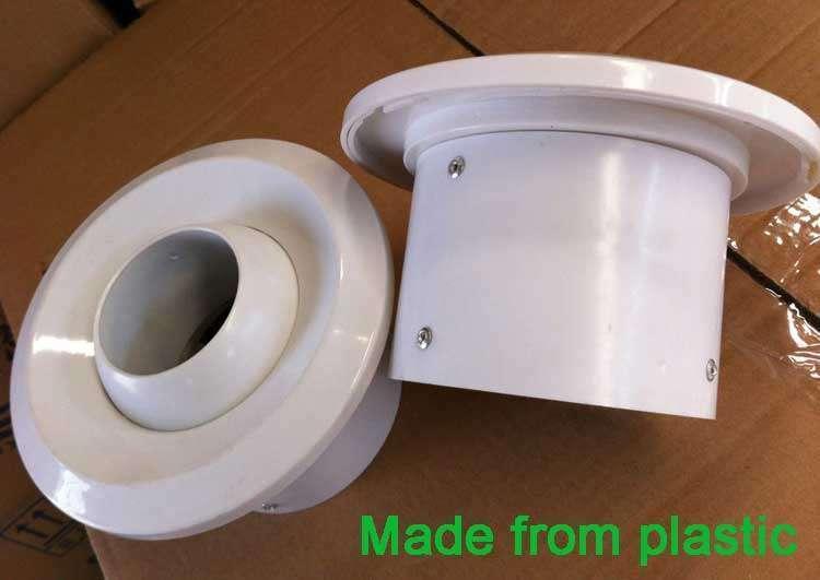 Plastic Jet Nozzle Diffuser