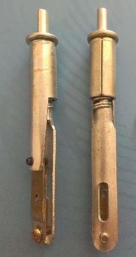 Damper Mechanism Actuator Fusible tubes