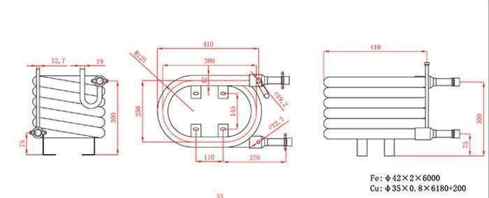 56000BTU-Coaxial-Heat-Exchanger
