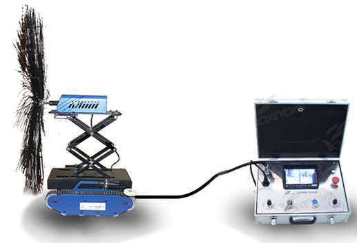 Air Duct Cleaning Robot-Height Adjustable