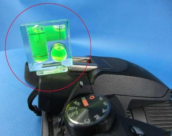 Camera bubble level 2