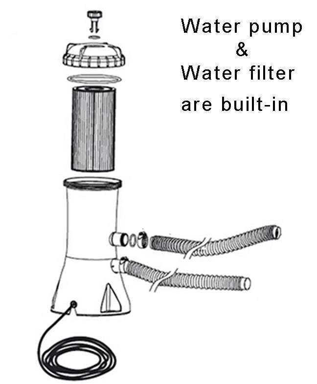 hot tub water filter manufacturer