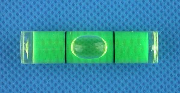 Plastic Cylindrical Bubble Level Vials
