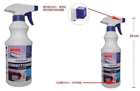 Air conditioner cleaning liquid