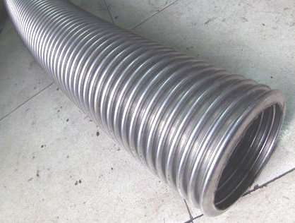 Stainless Steel Corrugated Tube Coil Heat Exchanger