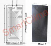 Thermodynamic solar panel 2000x1000mm