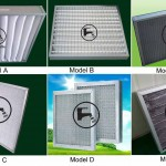 washable primary air filters with aluminium alloy frame
