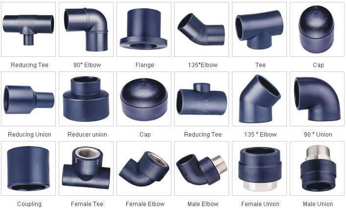 Water pipes and pipe fittings manufacturer supplier china