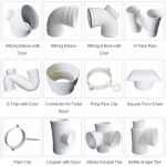PVC-U Sewage pipes fittings