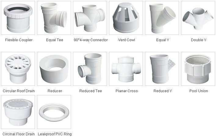 PVC-U Pipe fittings-2