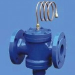Self-standing pressure difference control valve