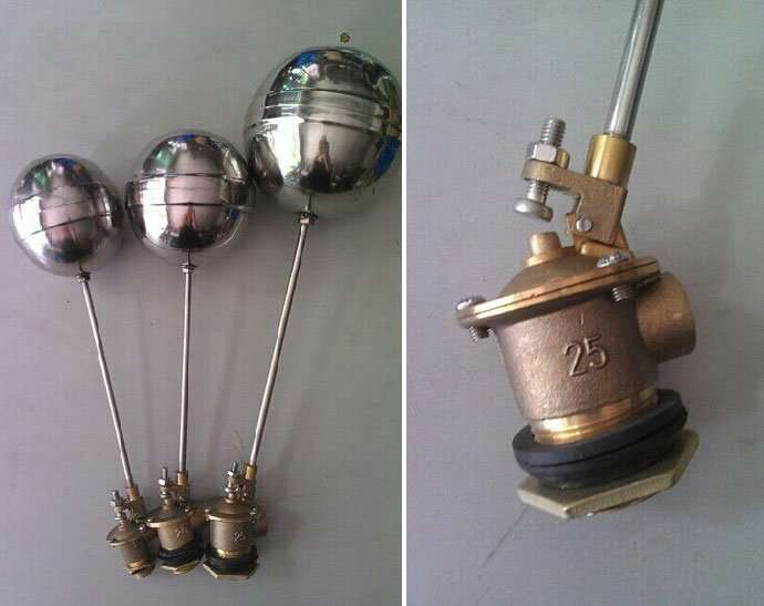 Stainless steel floating ball valve