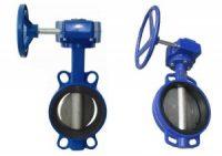 Worm gear butterfly valve