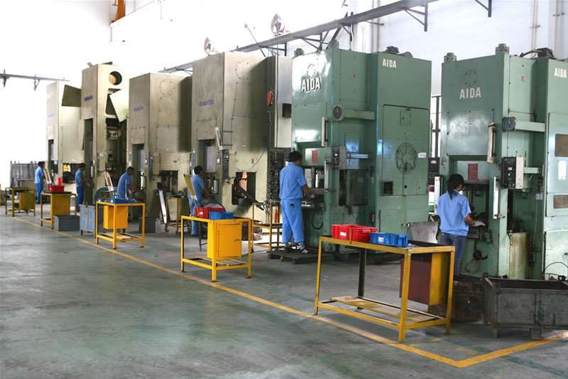 Aluminium cold forging equipments