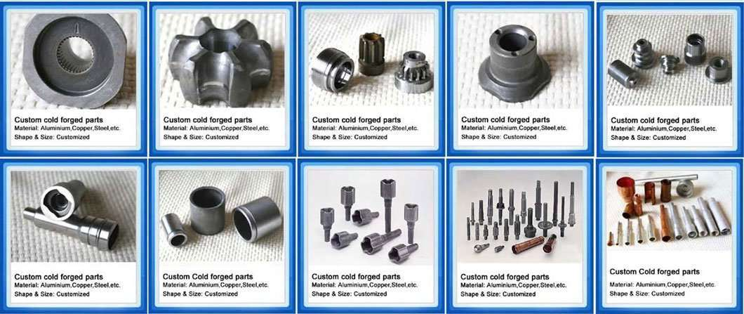 cold forging zinc parts and accessory