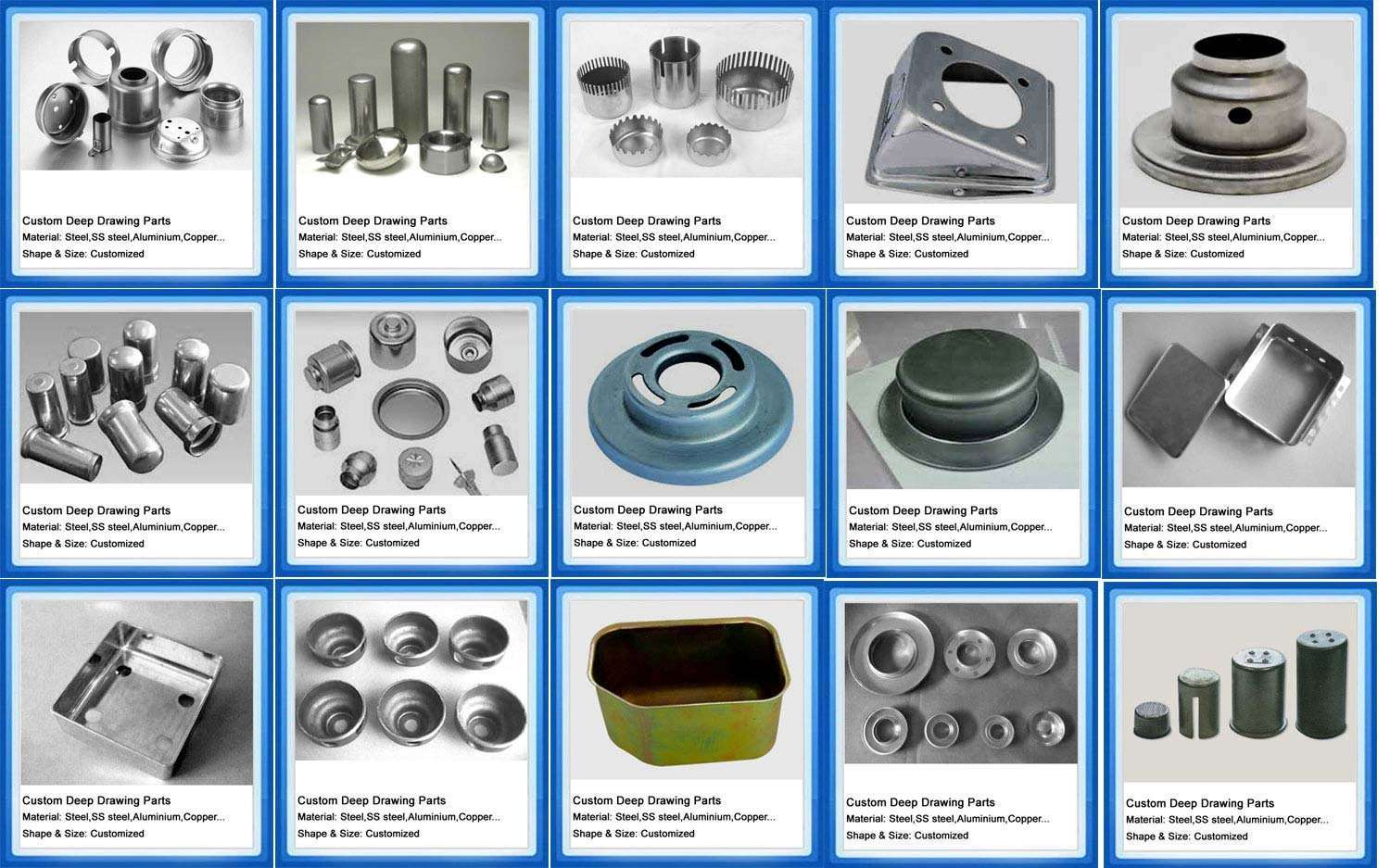 Metal Products Fabrication Manufacturer Supplier China