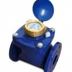 Flange type detachable water meter
