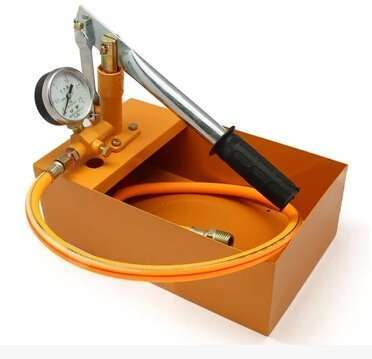 pressure testing device by hand