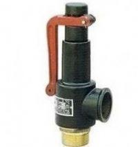 screw type spring safe valve