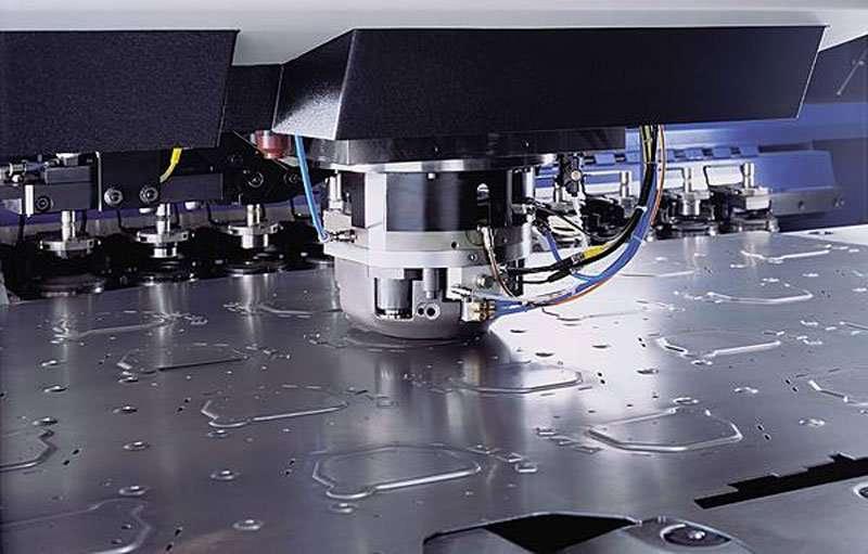 Sheet Metal CNC Stamping
