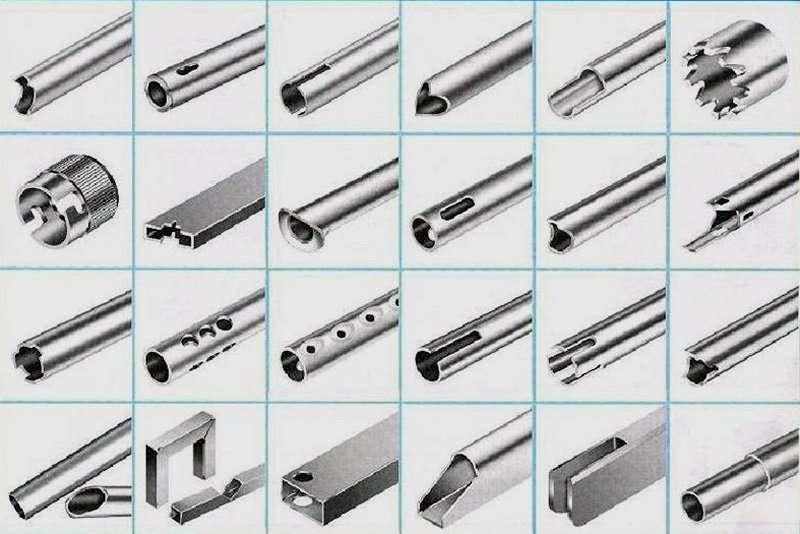 different Metal Tube Stamping