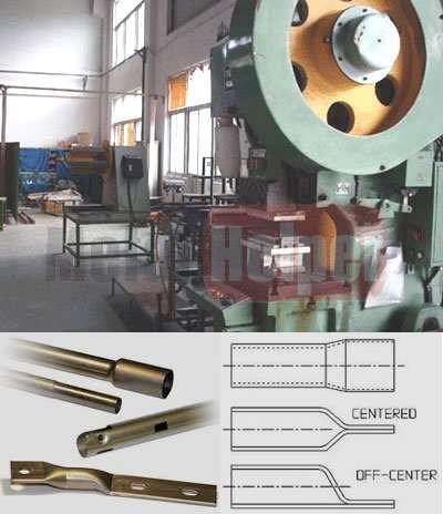Metal Tube Stamping fabrication