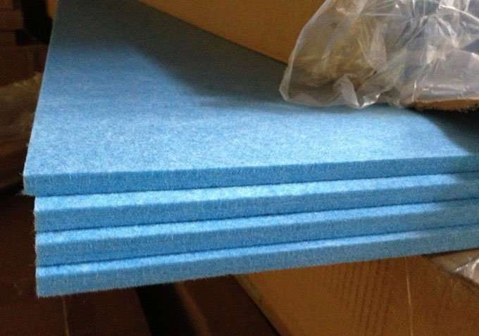 Acoustic polyester fibre Panel