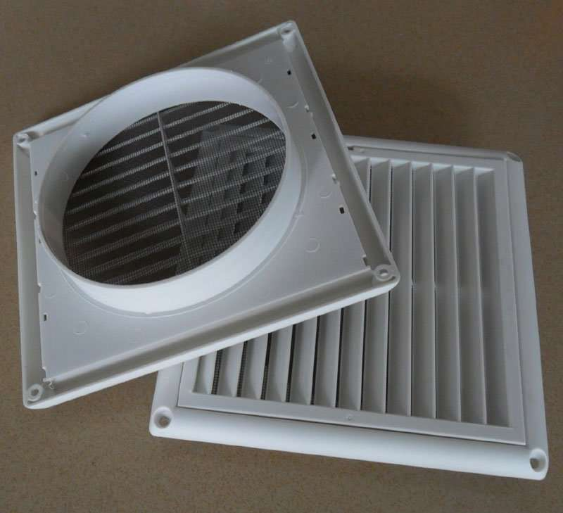 Air-Outlet-Plastic-grille-square
