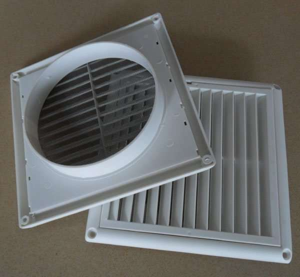 Air Outlet Plastic Grille Square Manufacturer Supplier China
