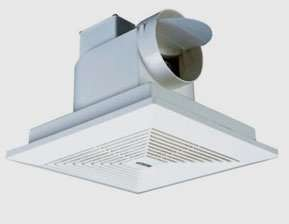All-plastic Tubular Ventilating Fan