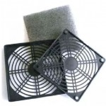 Axial Fan plastic grille filter kit