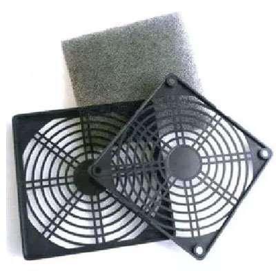 Axial Fan plastic grille filter kit